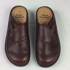 Finn Comfort Womens Clogs 42D Made In Germany
